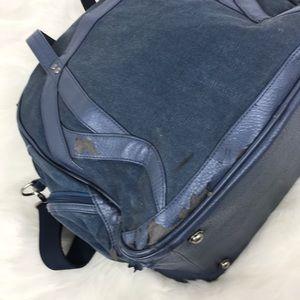lululemon athletica Bags - Lululemon Navy Gym Athletic Bag Shoulder Duffle